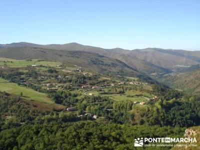 Ruta de senderismo --- Parque Natural Saja-Besaya; senderismo por la pedriza; senderos club